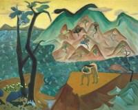 后海 布面 油彩 - 章剑 - 中国油画及雕塑专场 - 2006年秋季拍卖会 -收藏网