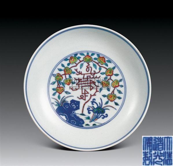 粉彩八仙人物杯 -  - 珍瓷雅玩 - 2007春季艺术品拍卖会 -中国收藏网