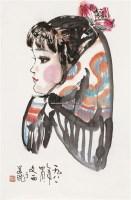 小姑娘 镜片 纸本 - 115997 - 中国书画 - 2011年春季拍卖会 -收藏网