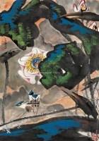 花鸟 镜心 设色纸本 - 20146 - 中国书画(二) - 2006迎春首届大型艺术品拍卖会 -收藏网