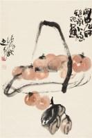 柿柿如意 轴 - 125239 - 中国书画 - 2011年春季艺术品拍卖会 -收藏网
