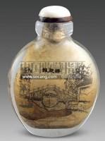 内画料器鼻烟壶 -  - 古董珍玩 - 2011春季艺术品拍卖会 -收藏网