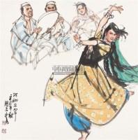 阿娜尔罕 镜片 纸本 - 史国良 - 中国当代绘画专场(一) - 2011年首届迎春艺术品拍卖会 -收藏网