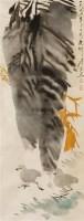 花鸟 立轴 设色纸本 - 唐云 - 书画(二)艺苑典藏 - 2011秋季书画拍卖会 -收藏网