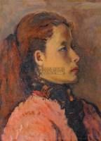 肖像 木版油彩 - 马金梁 - 油画 雕塑 - 2008年春季艺术品拍卖会 -收藏网