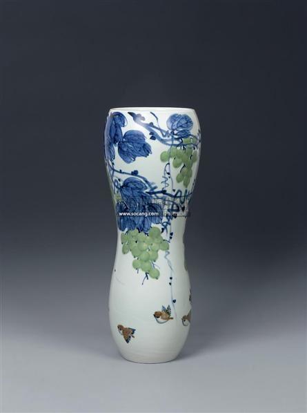 宁勤征 春华秋实 综合装饰瓷瓶 - - 近现代陶瓷 - 2011年春季拍卖会
