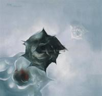 玫瑰 布面油画 - 罗发辉 - 当代与唯美 中国油画雕塑 - 2008春季大型艺术品拍卖会 -收藏网