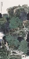 人家在翠微 镜心 设色纸本 - 127627 - 近现代书画 - 2007秋季中国书画名家精品拍卖会 -中国收藏网