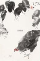母子图 设色纸本 - 118173 - 中国书画(一) - 2011年金秋精品书画拍卖会 -收藏网