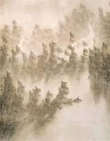 于洪 于进海 霜降 镜心 设色纸本 -  - 当代中国书画(一) - 2006畅月(55期)拍卖会 -中国收藏网