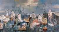新唐韵·流金岁月 布面 油画 - 王毓安 - 中国油画 - 2008年夏季拍卖会 -收藏网