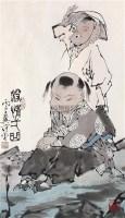 深情一曲 镜心 设色纸本 - 范曾 - 中国书画 - 第53期精品拍卖会 -收藏网