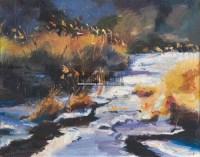 冬暖 布面油画 -  - 油画之光—油画专场 - 北京康泰首届艺术品拍卖会 -收藏网