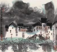 江南三月 镜心 设色纸本 - 徐 希 - 中国书画(二) - 2008秋季拍卖会 -收藏网