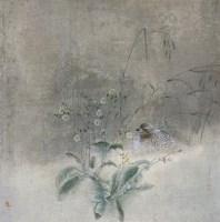 栖禽图 镜心 设色纸本 - 江宏伟 - 中国书画(二) - 2007秋季大型拍卖会 -收藏网