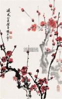 红梅 立轴 - 8658 - 中国书画 - 2008春季拍卖会 -收藏网