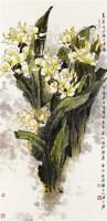 水仙 镜片 纸本 - 1459 - 中国书画专场 - 2011金秋艺术品拍卖会 -收藏网
