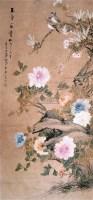 玉堂富贵 立轴 设色纸本 -  - 中国书画 - 2007秋季艺术品拍卖会 -中国收藏网