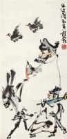 出巡图 立轴 设色纸本 - 114810 - 中国书画(一) - 2011年夏季拍卖会 -收藏网
