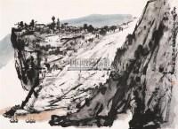 山水 镜心 设色纸本 - 115107 - 海外回流书画专场(五) - 2011秋季艺术品拍卖会 -收藏网