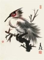 水鸟 镜框 设色纸本 - 128065 - 中国书画 - 2011年夏季艺术品拍卖会 -收藏网
