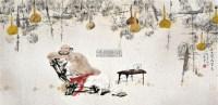 金风瑟瑟入梦来 镜片 设色纸本 - 106731 - 当代中国画名家专场 - 2011秋季艺术品拍卖会 -中国收藏网