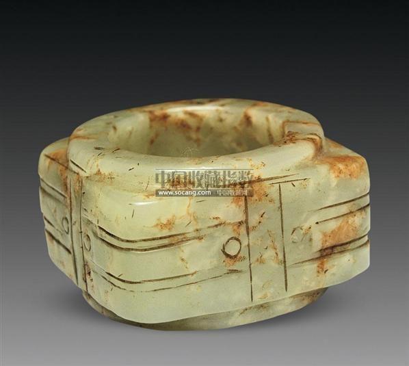 玉琮 -  - 古董珍玩 - 2011艺术品拍卖会 -中国收藏网