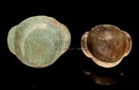 A BRONZE EAR CUP,HAN DYNASTY (206 BC - AD 220) -  - 中国进出口瓷器 - 2009秋季拍卖会(二) -收藏网