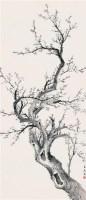 白梅图 立轴 设色纸本 - 王道 - 海上旧梦(四) - 2010年春季艺术品拍卖会 -收藏网
