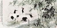 李绅诗意图 镜框 设色纸本 -  - 名家作品(一) - 第16届广州国际艺术博览会名家作品拍卖会 -收藏网