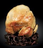 寿桃 -  - 雅石杂项专场 - 2011雅石杂项拍卖会 -收藏网