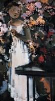 樱花 布面油画 - 夏俊娜 - 中国油画 - 2005秋季大型艺术品拍卖会 -收藏网