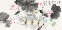藕花呈祥 镜片 设色纸本 - 18235 - 中国书画一 - 2011秋季书画专场拍卖会 -收藏网