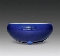 蓝釉炉 -  - 瓷器 - 嘉德四季第二十六期拍卖会 -收藏网
