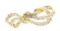 蝴蝶结型 钻石胸针 -  - 珠宝翡翠专场 - 2011秋季伊斯特东京拍卖会 -收藏网