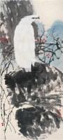 白鹰 立轴 设色纸本 - 1722 - 中国书画 - 2011年迎春拍卖会 -中国收藏网