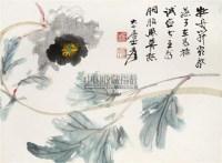 花卉 镜片 设色纸本 - 116070 - 中国书画(二) - 2011年夏季拍卖会 -收藏网