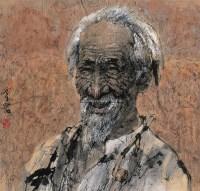 热土 镜心 设色纸本 - 梁岩 - 中国书画 - 2008夏季拍卖会 -收藏网