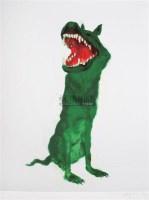 绿狗之一 版画 - 8738 - 油画 版画 - 2006秋季艺术品拍卖会 -收藏网