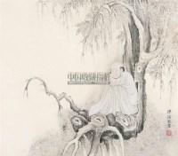 人物 立轴 水墨纸本 - 1518 - 中国书画一 - 2011春季书画大型拍卖会 -收藏网