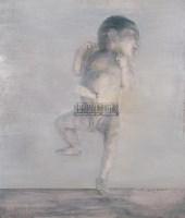 英英 布面 油画 - 何多苓 - 油画专场 - 2006年秋季艺术品拍卖会 -收藏网