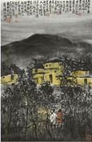 張華勝山水 -  - 中国书画名家作品专场 - 2008秋季艺术品拍卖会 -收藏网
