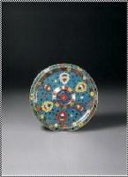 掐丝珐琅缠枝花卉纹盏托 -  - 中国瓷器 玉器及杂项 - 2007年秋季大型艺术品拍卖会 -收藏网