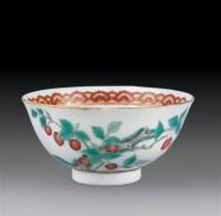 粉彩樱桃纹小碗 -  - 瓷器杂项 - 2007迎新艺术品拍卖会 -收藏网