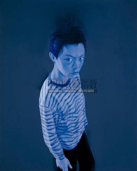 郭伟 2003年作 蓝色的蚊子 第3号 - 125661 - 亚洲当代艺术 - 2007春季艺术品拍卖会 -收藏网