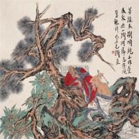 菩提本无树 镜心 设色纸本 - 119496 - 中国当代书画 - 2009春季拍卖会 -收藏网