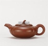 俞国良款 柿子壶 -  - 中国当代高端工艺品 - 2011年春季拍卖会 -收藏网