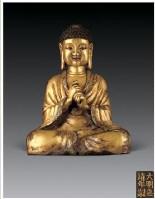 铜鎏金大日如来佛像 -  - 佛像唐卡 - 2007春季艺术品拍卖会 -收藏网