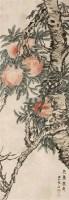 寿桃 立轴 设色纸本 - 4786 - 中国名家书画 - 2011秋季中国名家书画拍卖会 -收藏网
