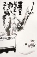 清贡图 立轴 纸本 - 杨彦 - 大众典藏 - 2011年第六期大众典藏拍卖会 -收藏网